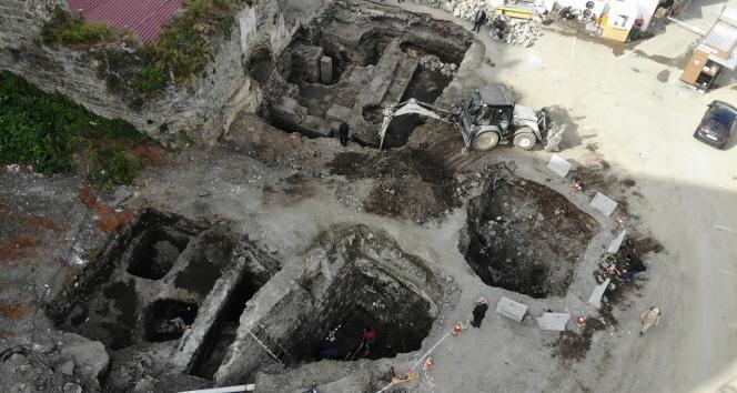 Yerin 4 metre altında çıktı, Roma dönemine ait olduğu belirlendi