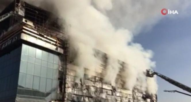 Başkent'teki depo yangının görgü tanığı İHA'ya konuştu!