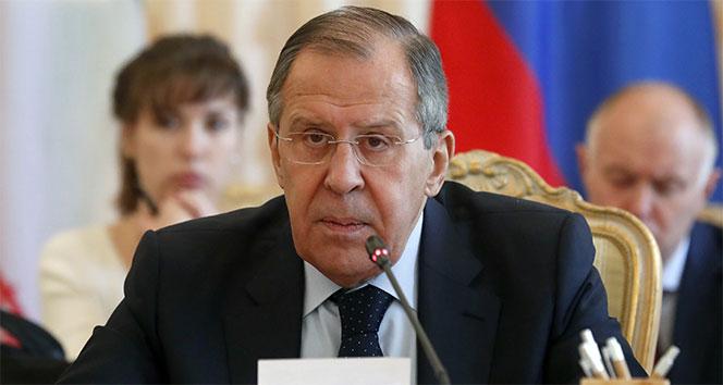 Lavrov: 'ABD, Suriye'deki hava saldırısından 4-5 dakika önce bizi uyardı'