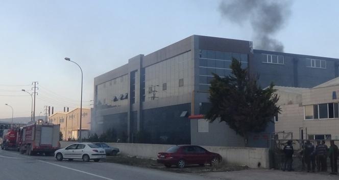 Bursa'da tekstil fabrikasında çıkan yangın korkuttu