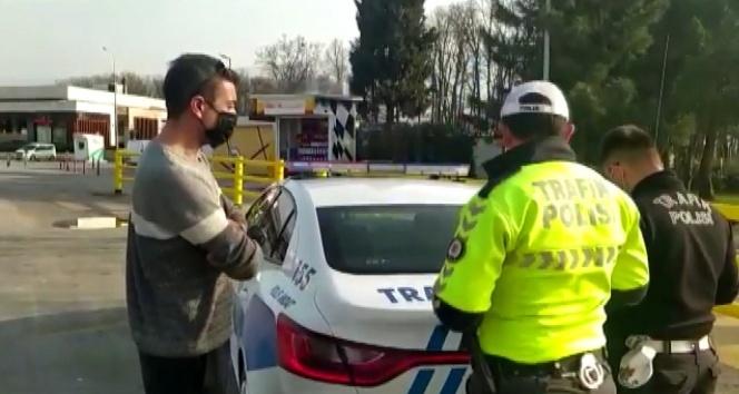 İstanbul polisinden helikopter destekli trafik denetimi