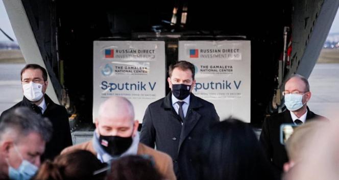 Slovakya'ya Sputnik V aşılarının ilk kısmı ulaştı
