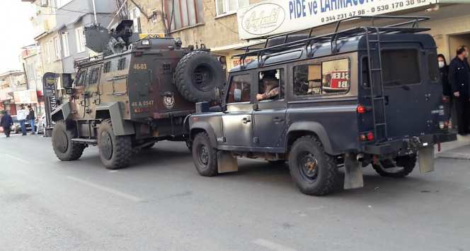 Kahramanmaraş'ta terör operasyonuna 1 gözaltı