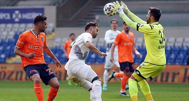 Medipol Başakşehir, sahasında İH Konyaspor'la 1-1 berabere kaldı