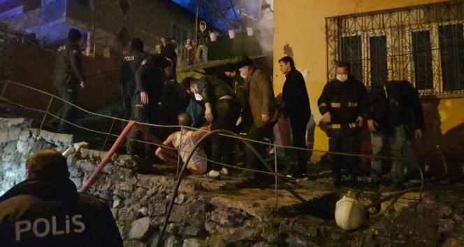 Karabük'te ev yangını: