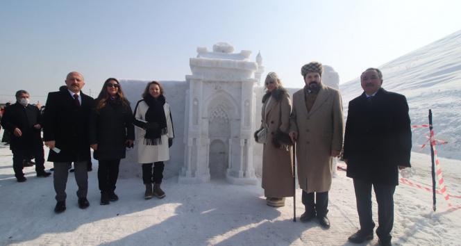 Ağrı'da Kar ve Buz Festivali coşkuyla kutlandı