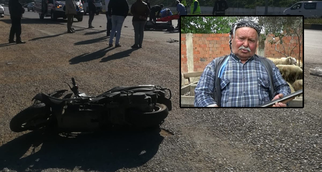 Tire'de otomobil ile çarpışan motosikletin sürücüsü hayatını kaybetti