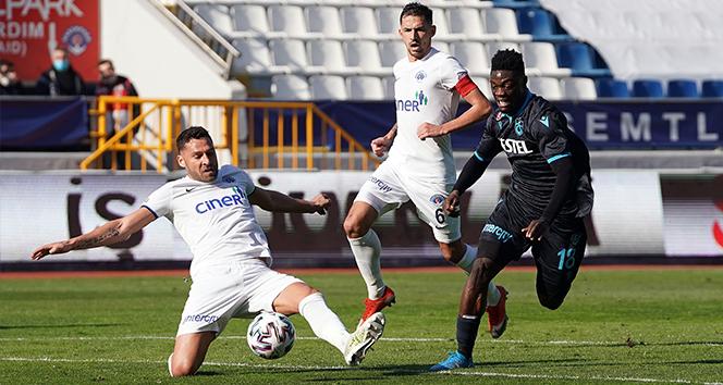 Trabzonspor, Kasımpaşa'yı 2-1 mağlup etti