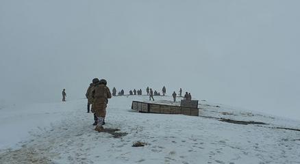 Bitliste kaza bölgesindeki arama kurtarma çalışmaları tamamlandı
