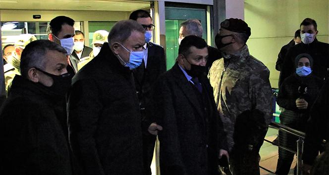 Milli Savunma Bakanı Akar, Elazığ'da