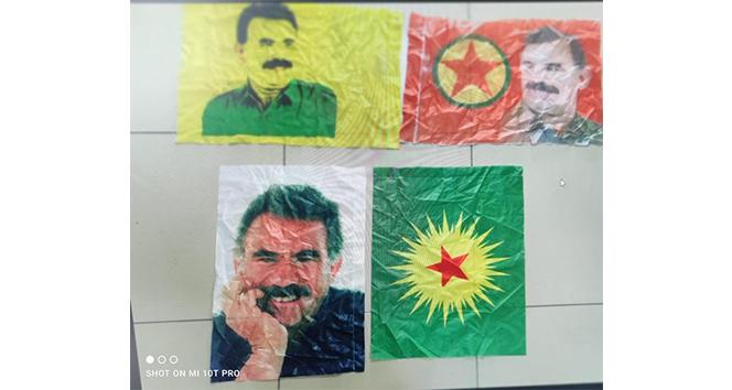 Belediyenin kullanılmayan binasında PKK'nın elebaşı Öcalan'ın fotoğrafları ele geçirildi