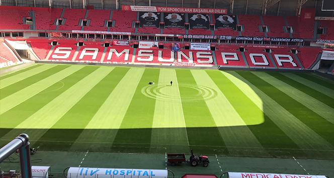 Samsunspor'dan milli maç isteği
