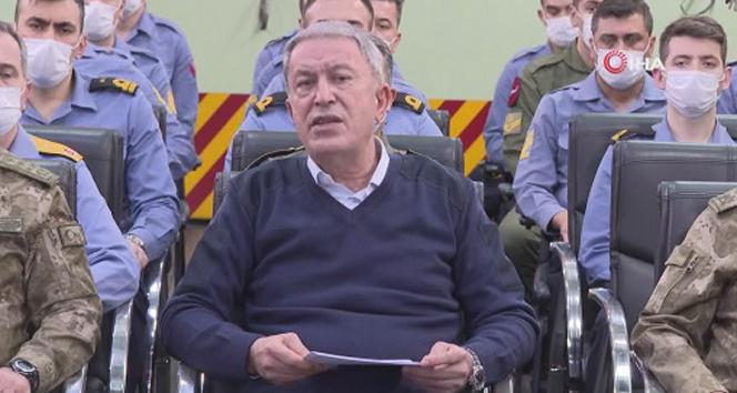 Milli Savunma Bakanı Hulusi Akar'dan Mısır mesajı!