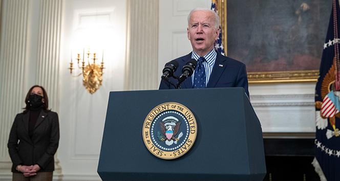 Biden: 'Amerikalılar bin 400 dolarlık yardımı bu aydan itibaren almaya başlayacak'