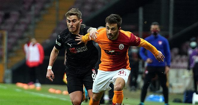 Galatasaray evinde Sivasspor'u geçemedi