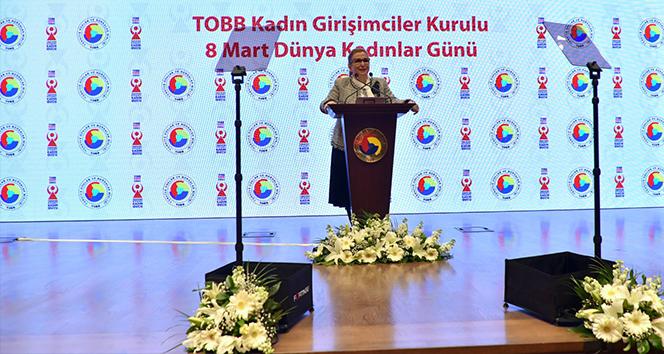 Bakan Pekcan: 'Son 15 yılda işveren kadın sayımız 49 binden 129 bine ulaşmıştır'