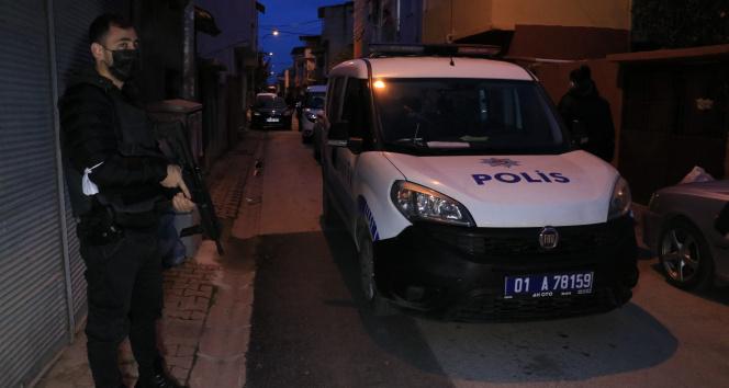 Adana'da drone destekli torbacı operasyonu