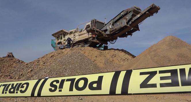Kırıkkale'de kahreden iş kazası, izne ayrılacağı gün taş kırma makinesine düştü
