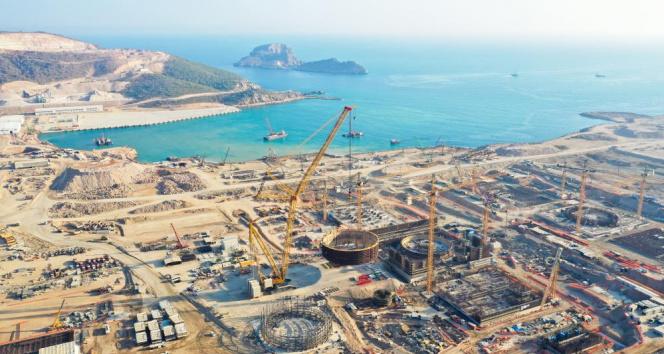 Akkuyu NGS'nin 3. reaktörünün temeli atıldı