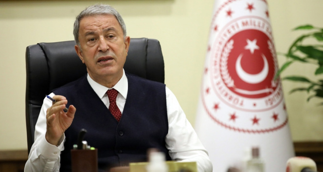 Milli Savunma Bakanı Akar'dan önemli açıklamalar