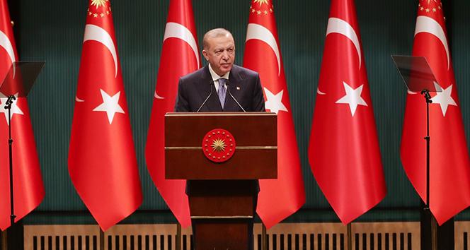 Cumhurbaşkanı Erdoğan: 'Şehirlerimizdeki mevcut uygulamayı bir süre daha sürdürme kararı aldık'