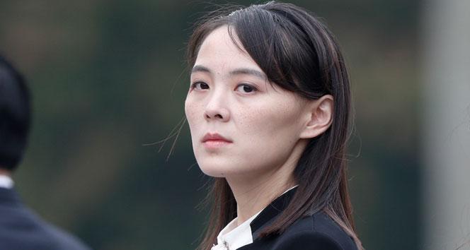 Kim Jong-un'un kız kardeşinden ABD'ye sert sözler: