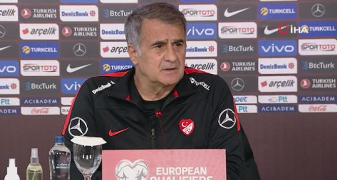 Şenol Güneş: 'Norveç maçından iyi dönersek büyük avantaj yakalayacağız'