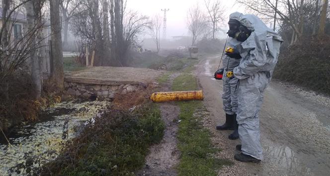 Sakarya'da 12 kişiyi hastanelik eden kimyasal iddiasında 2 gözaltı kararı