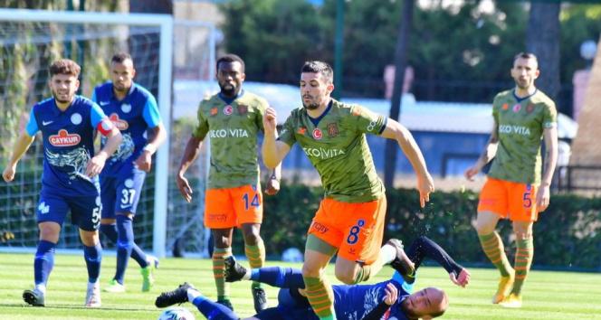 Hazırlık maçı: Medipol Başakşehir: 0 - Çaykur Rizespor: 1