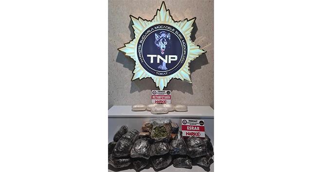 Tırın gizli bölmesinde 1 milyon TL'lik uyuşturucu ele geçirildi