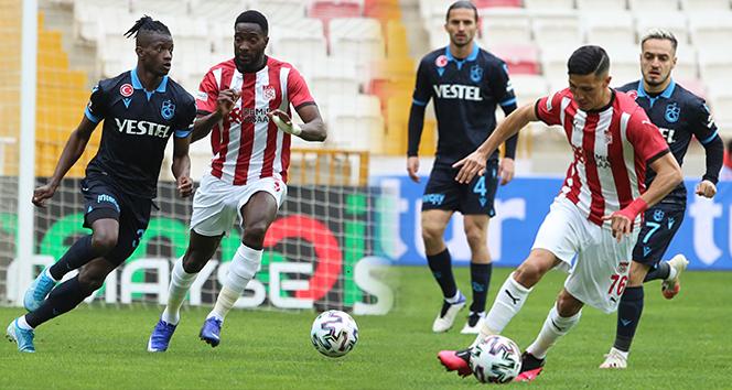 Trabzonspor ile Sivasspor puanları paylaştı!