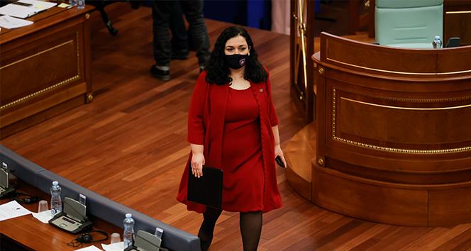 Kosova Cumhurbaşkanı Osmani: 'Bugün Kosova bir kadın cumhurbaşkanı seçti'