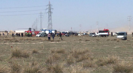 Son dakika! Konyada askeri gösteri uçağı düştü... 1 pilot şehit
