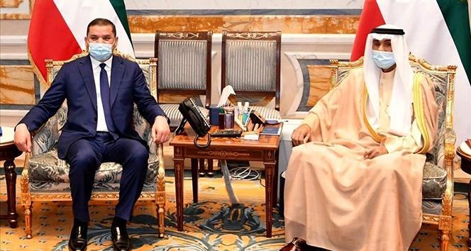 Libya Başbakanı Dibeybe, Kuveyt Kralı Al-Sabah ile bir araya geldi