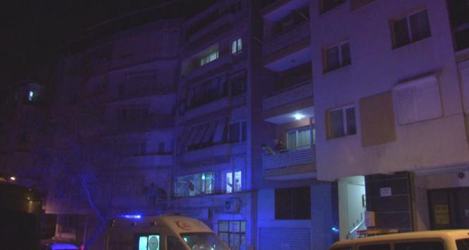 4. katın balkonundan 1. kata indi, atlarken zemine düşüp ağır yaralandı