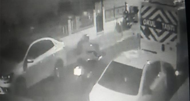 Ümraniye'deki 35 bin liralık motosiklet hırsızlığı kamerada