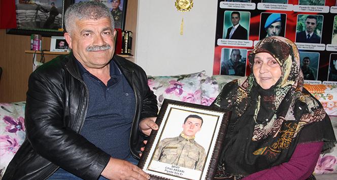 Şehit babası Aksarı: 'Ahımız yerde kalmadı'