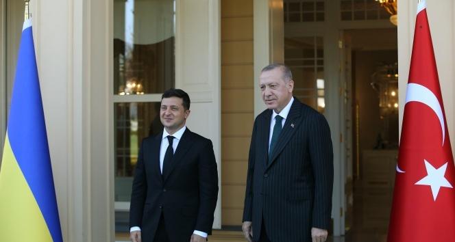 Cumhurbaşkanı Erdoğan ve Ukrayna Devlet Başkanı Zelenskiy görüşmesi başladı