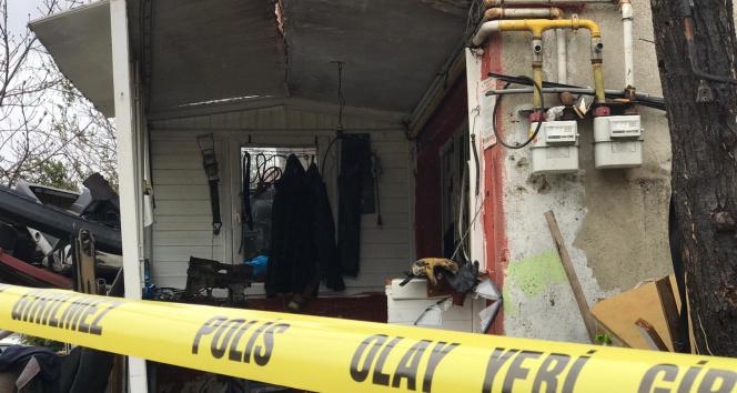 Tamirci dükkanında LPG tankı patladı: 1 yaralı