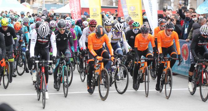 56. Cumhurbaşkanlığı Bisiklet Turu Konya'da start aldı