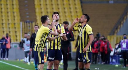 Fenerbahçeden golden sonra Kahve sevinci