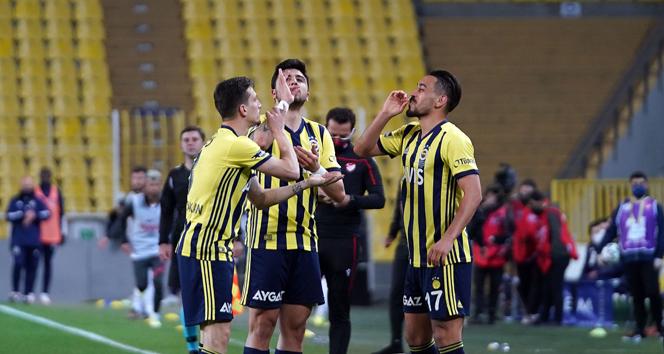 Süper Lig: Fenerbahçe: 3 - Gaziantep FK: 1 (Maç sonucu)