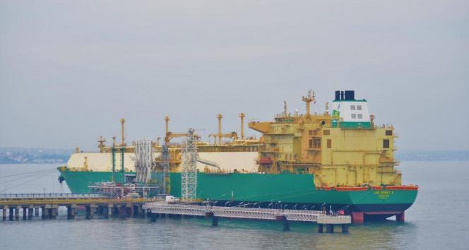 177 bin metreküplük sıvılaştırılmış doğalgaz gemisi Türkiye'den ayrıldı