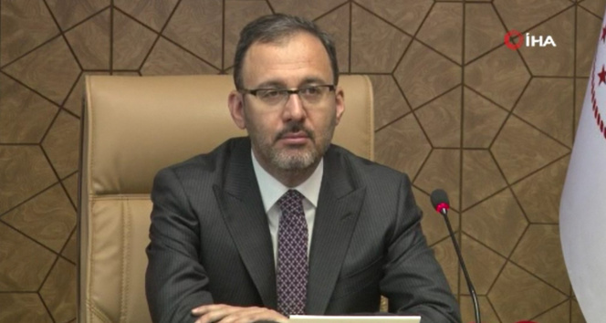Gençlik ve Spor Bakanı Dr. Kasapoğlu, Milli sporcularla bir araya geldi