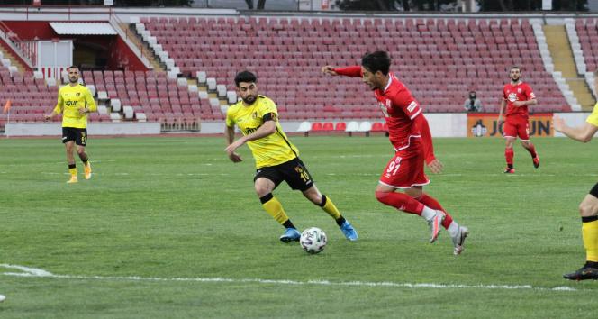 TFF 1. Lig: Balıkesirspor: 1 - İstanbulspor: 2 (MAÇ SONU)