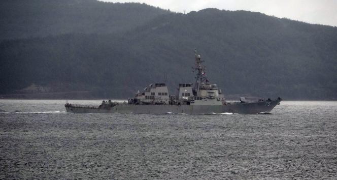 ABD savaş gemileri Karadeniz'e geçmeyecek