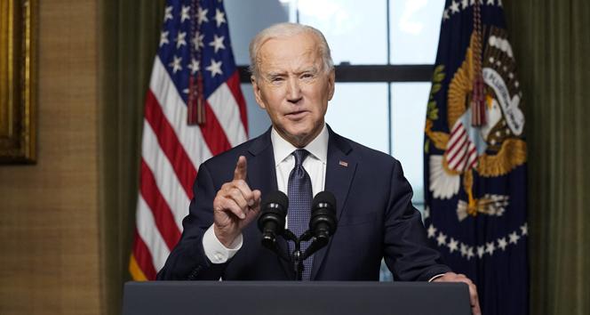 ABD Başkanı Biden: 'Bugün 200 milyon aşı sayısına ulaştık'