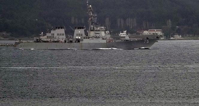 ABD, savaş gemilerini Karadeniz'e göndermekten vazgeçti