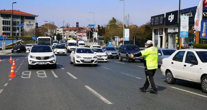 İstanbul'da drone destekli trafik denetimi