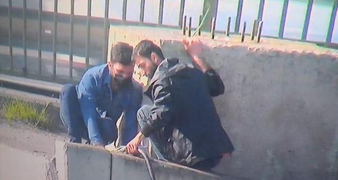 Ataşehir'de trafo kablolarını kesen 3 kişi yakalandı